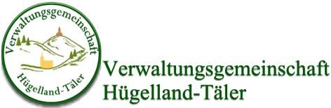 Verwaltungsgemeinschaft Hügelland Täler